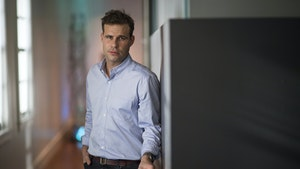 Postmates CEO Bastian Lehmann. Photo by Bloomberg