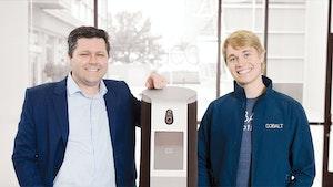 Cobalt Robotics co-founders Travis Deyle and Erik Schluntz. Photo: Cobalt