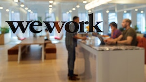 A WeWork location in New York City. Photo: Bloomberg
