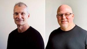 Flexe CEO Karl Siebrecht and CTO David Glick. Photos by Flexe