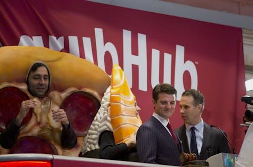 GrubHub CEO Matt Maloney. Photo by Bloomberg.