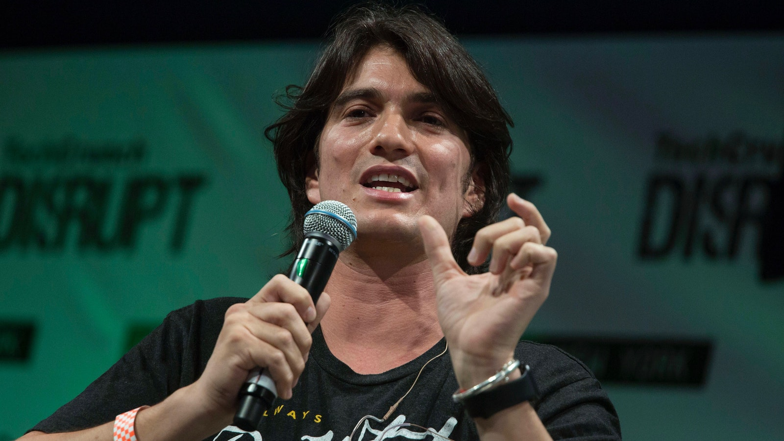 WeWork CEO Adam Neumann. Photo by Bloomberg
