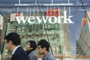 A WeWork location in Tokyo. Photo: Bloomberg