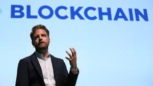 Blockchain CEO Peter Smith. Photo: Bloomberg