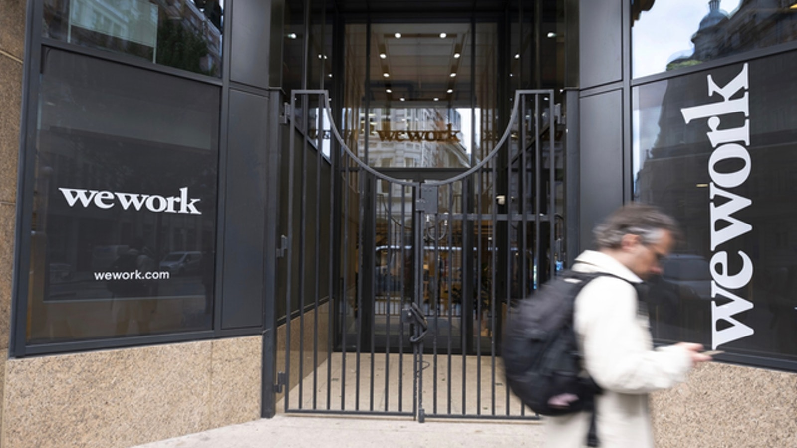 A WeWork location in London. Photo: Bloomberg