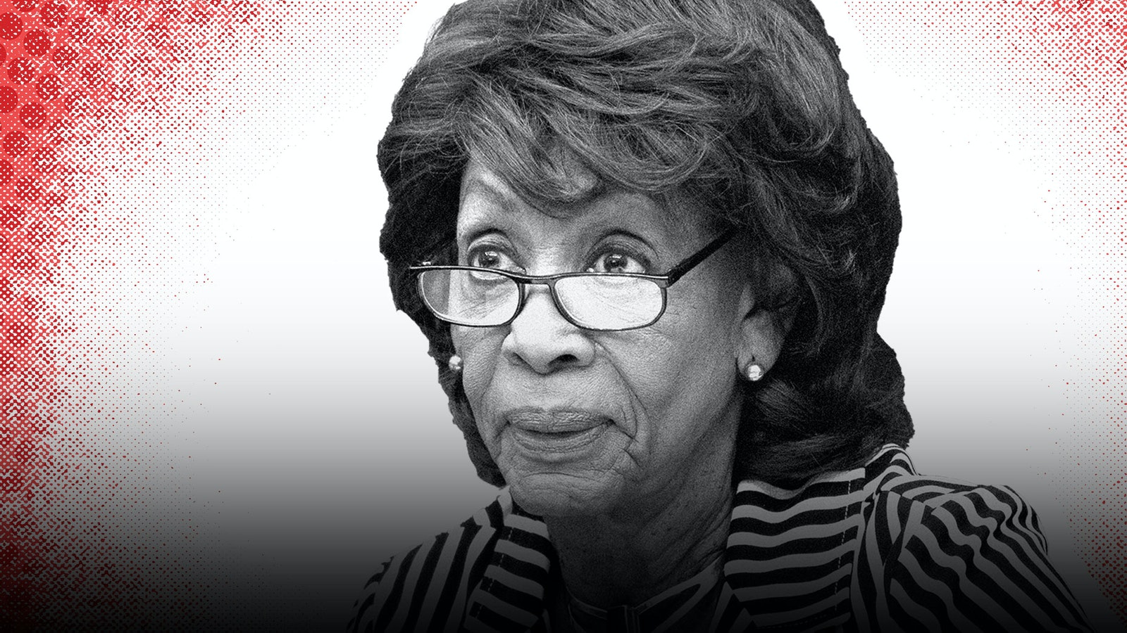 Maxine Waters photo by AP. Illustration by Mike Sullivan