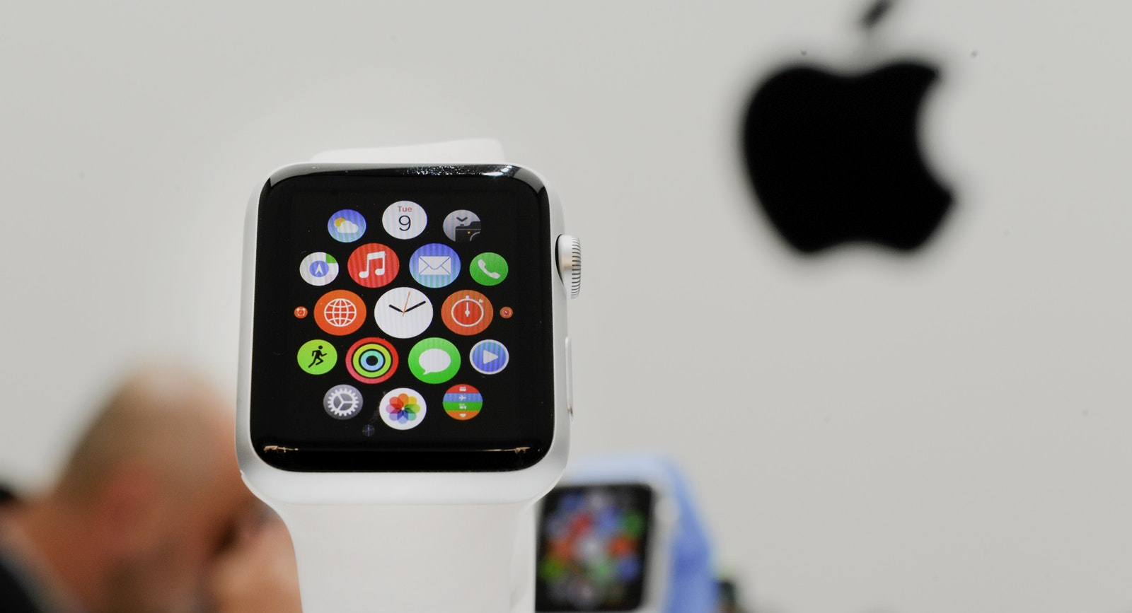 The Apple Watch. Photo by Bloomberg.