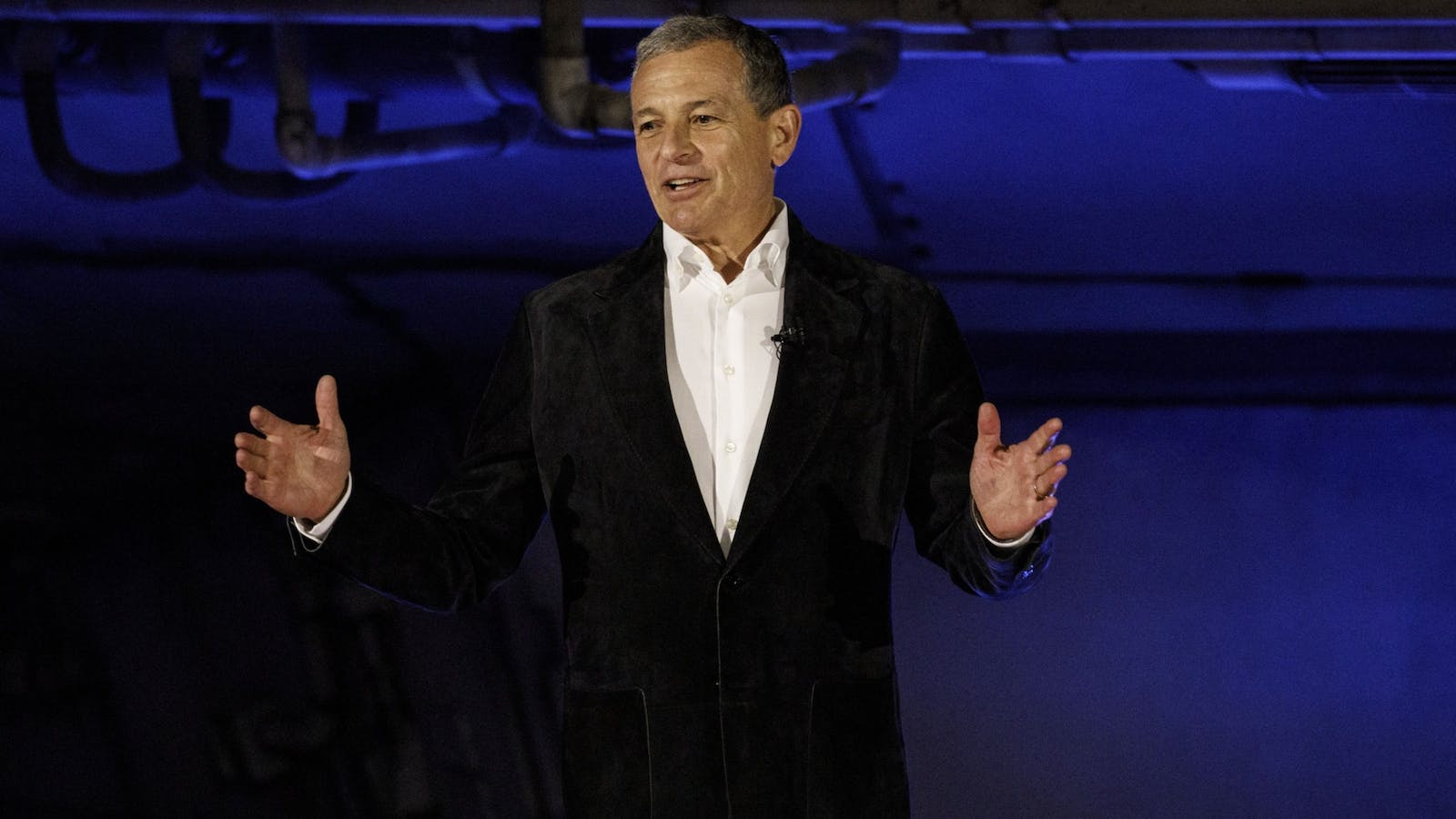 Disney CEO Bob Iger. Photo by Bloomberg