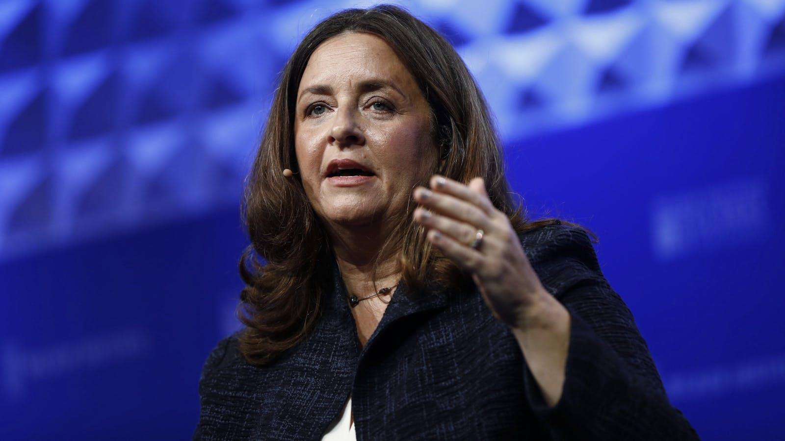 Susanne Daniels. Photo by Bloomberg.