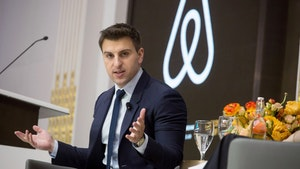 Airbnb CEO Brian Chesky, shown in 2017. Photo: Bloomberg