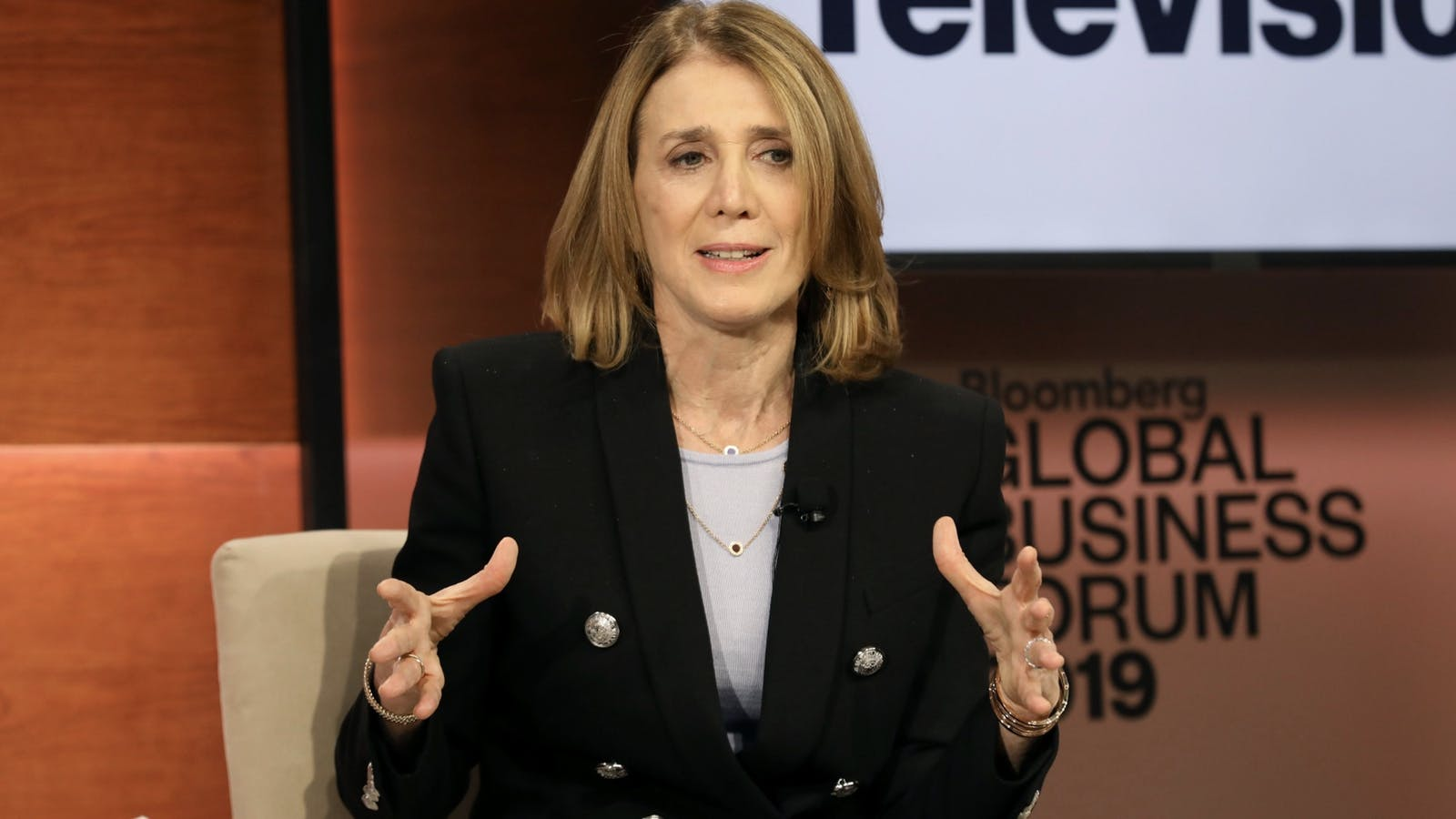 Alphabet CFO Ruth Porat. Photo by Bloomberg