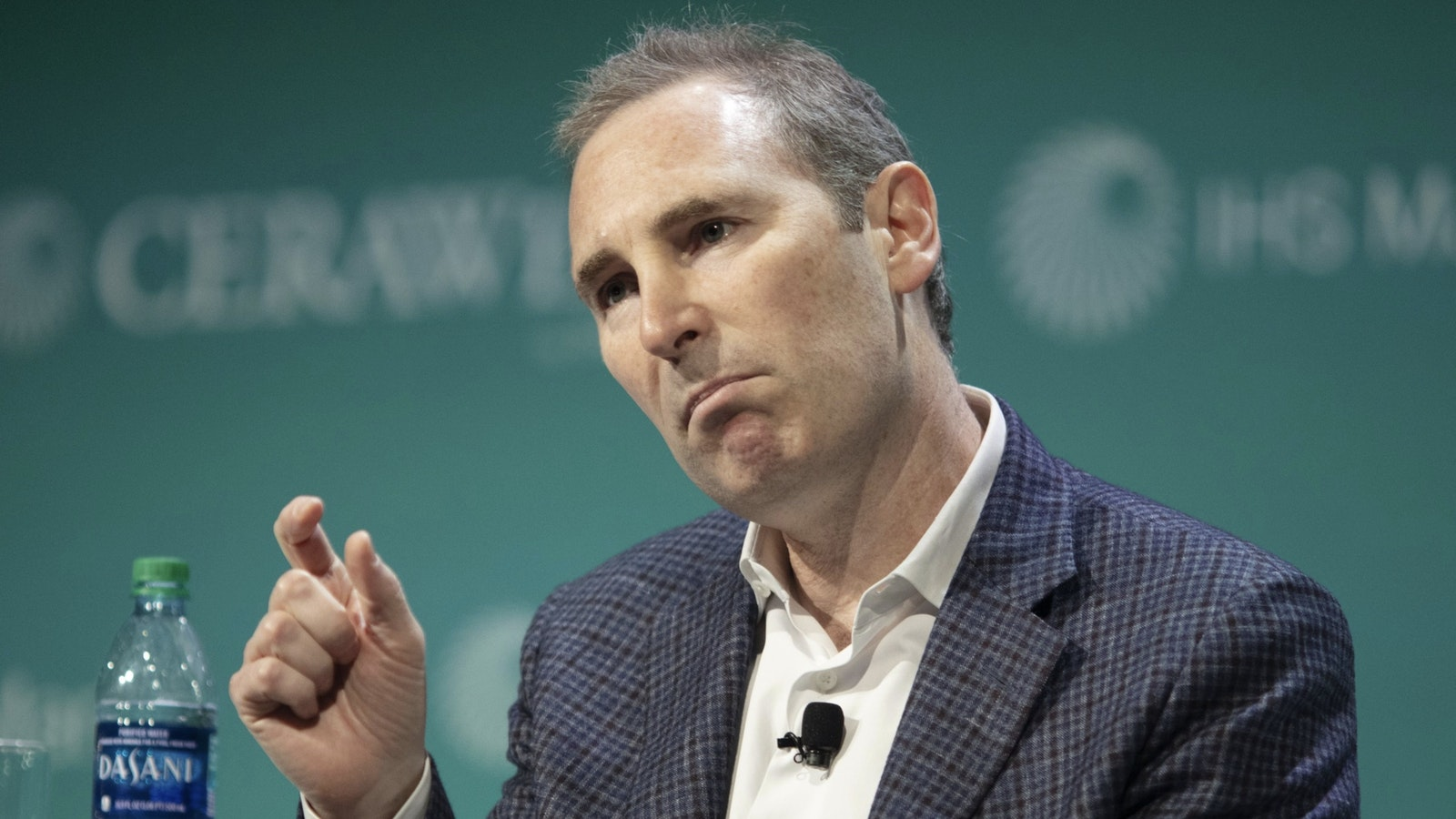 AWS CEO Andy Jassy. Photo by Bloomberg