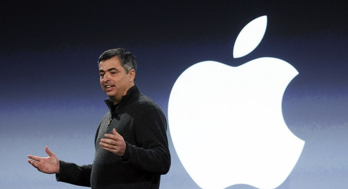 Apple's iTunes boss Eddy Cue. Photo by Bloomberg.