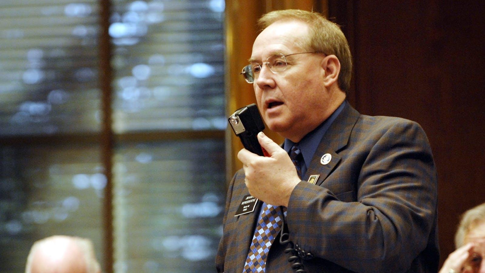 North Dakota state Representative Jim Kasper. Photo by AP.
