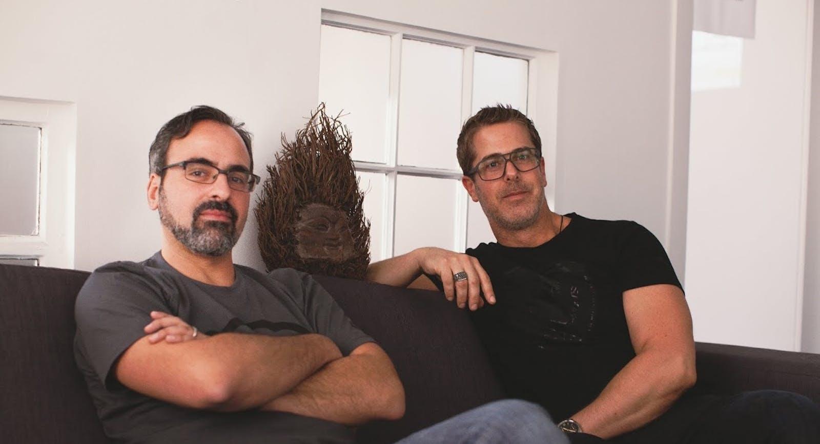Cyanogen co-founders Steve Kondik, left, and Kirt McMaster. Photo by Cyanogen.