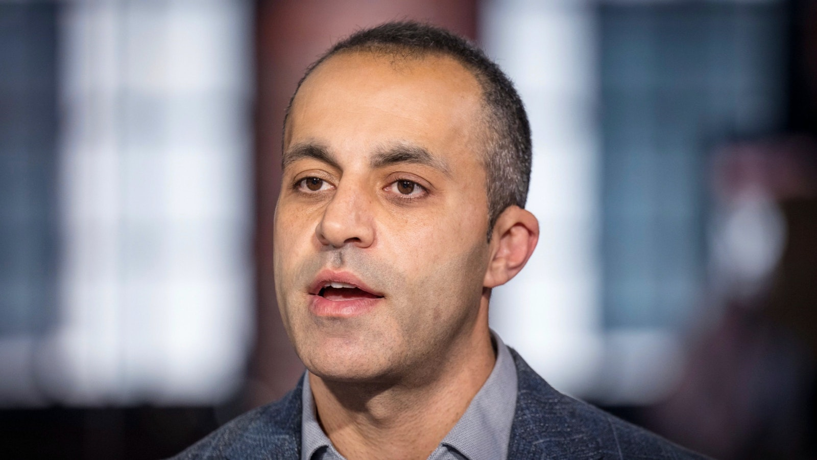 Ali Ghodsi, co-founder and chief executive officer of Databricks. Photo by Bloomberg