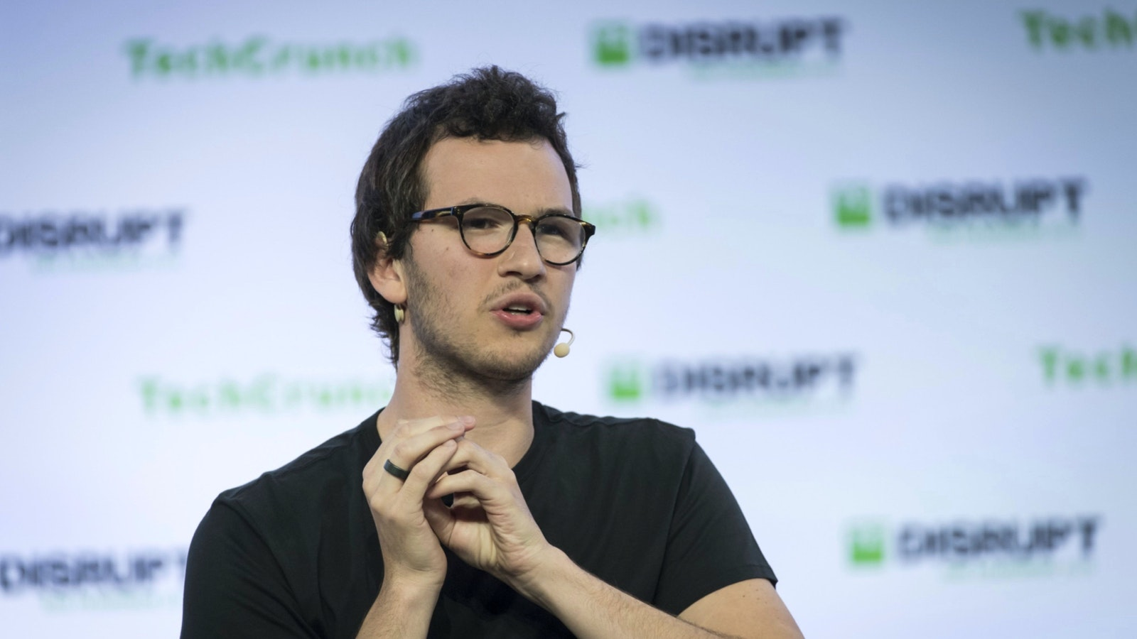 Henrique Dubugras, co-founder and chief executive office of Brex. Photo by Bloomberg