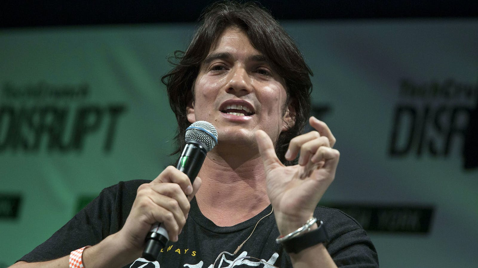 WeWork's former CEO Adam Neumann. Photo by Bloomberg
