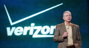 Verizon CEO Lowell McAdam. Photo by Bloomberg.