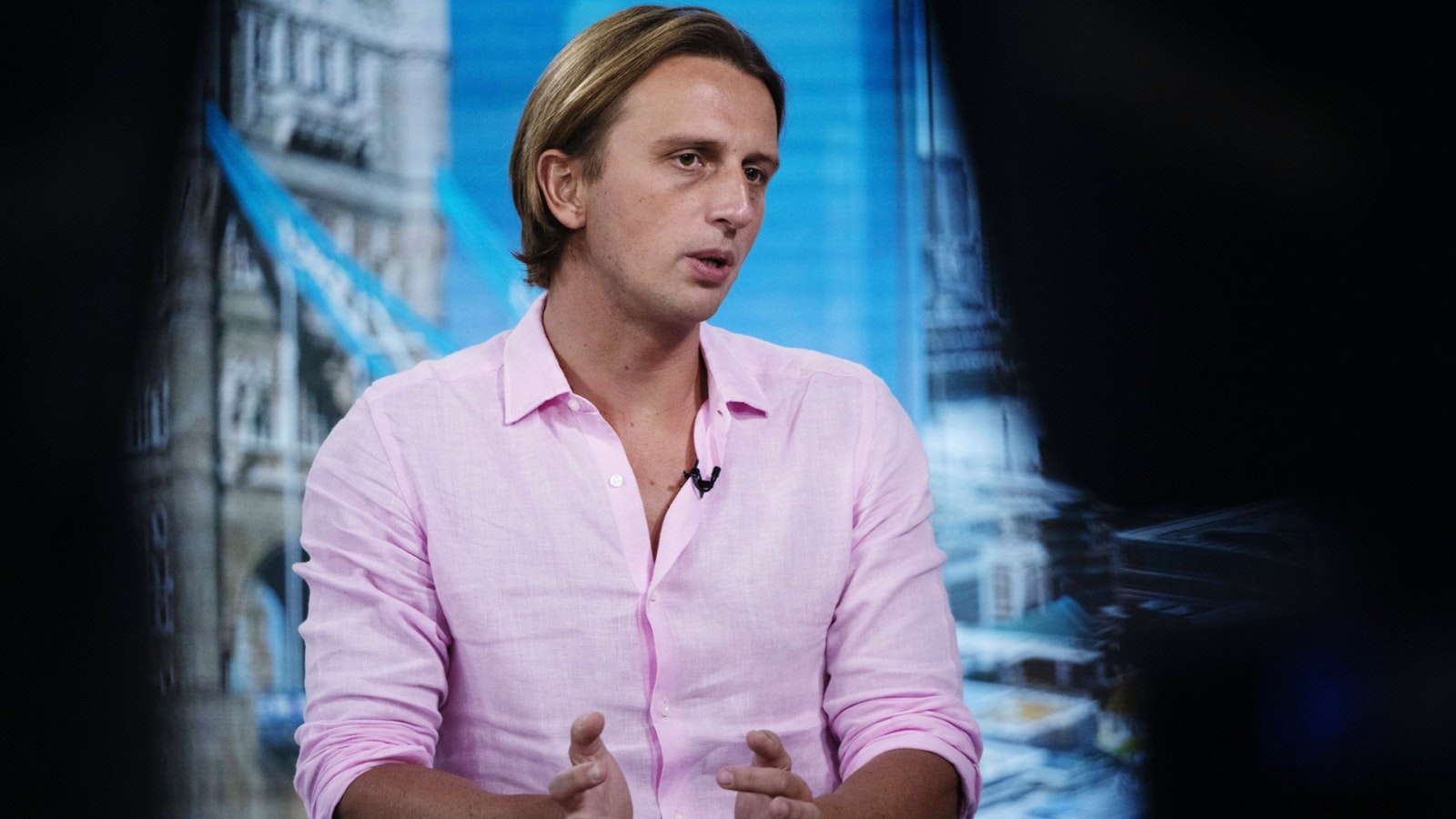 Nikolay Storonsky, CEO of Revolut, last August. Photo by Bloomberg