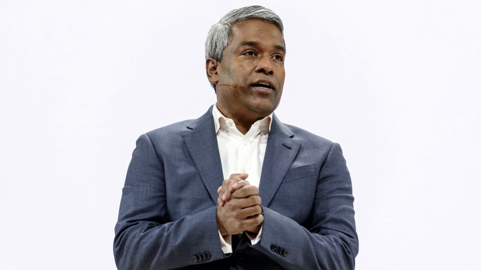 Google Cloud CEO Thomas Kurian. Photo by Bloomberg