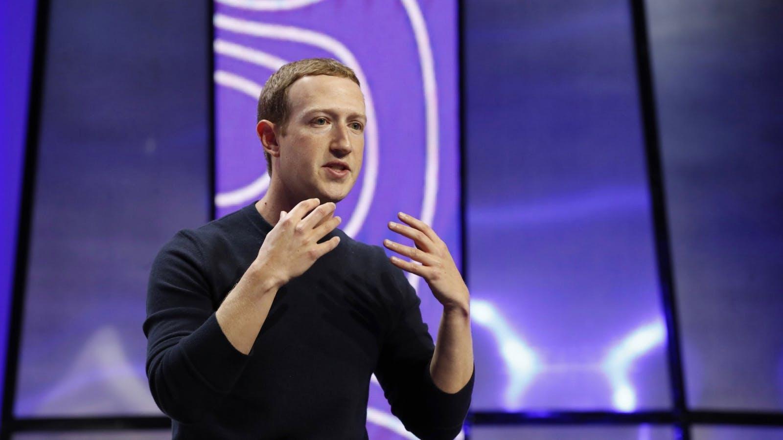 Facebook CEO Mark Zuckerberg. Photo: Bloomberg