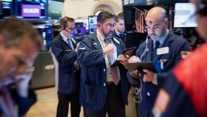 The NYSE trading floor last month. Photo: Bloomberg