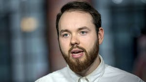 Francis Davidson, CEO of Sonder. Photo: Bloomberg