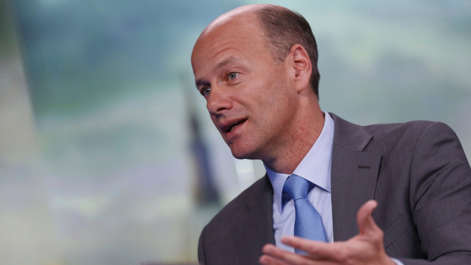 Silicon Valley Bank CEO Gregory Becker. Photo by Bloomberg