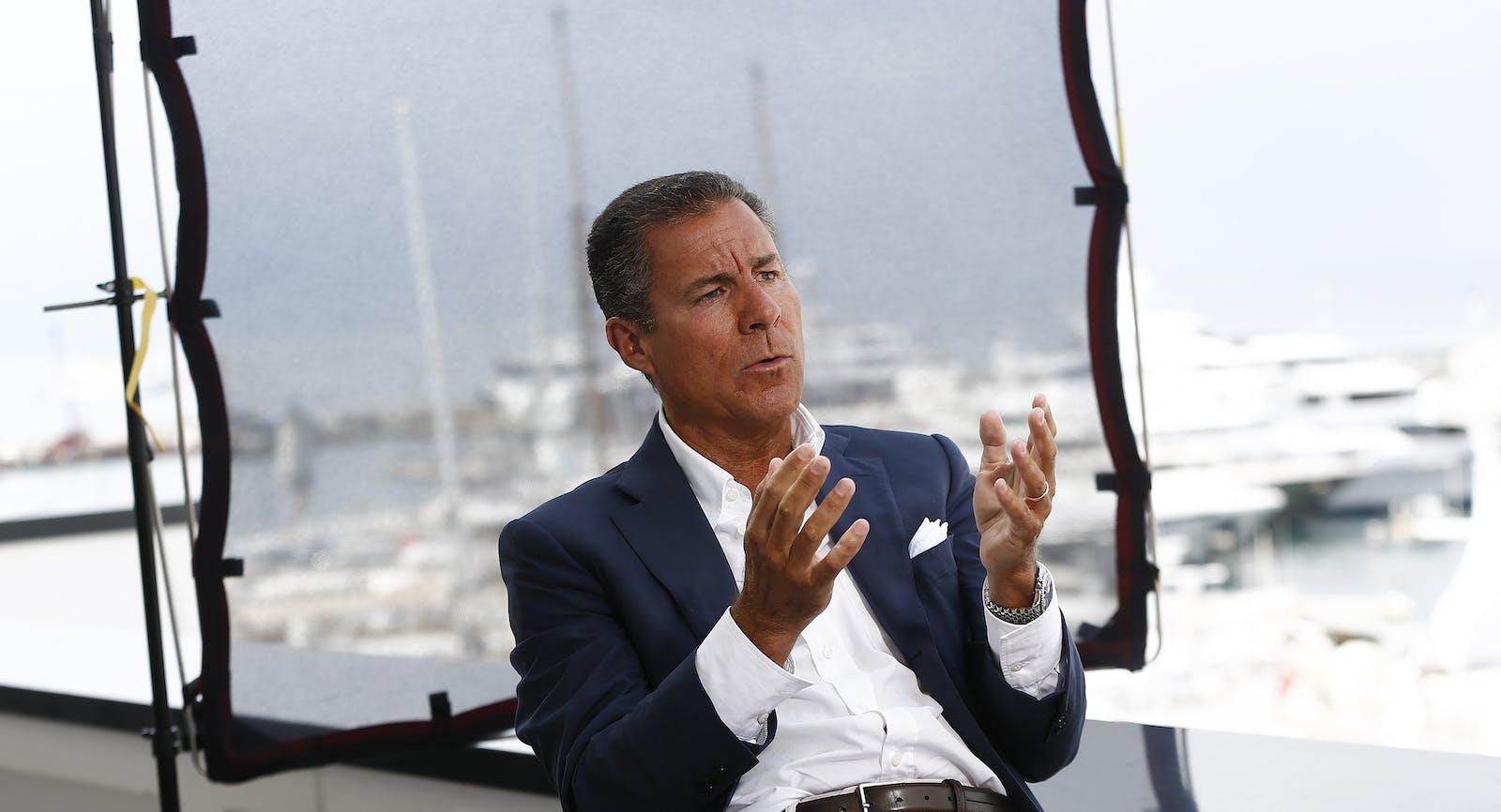 HBO CEO Richard Plepler. Photo by Bloomberg.