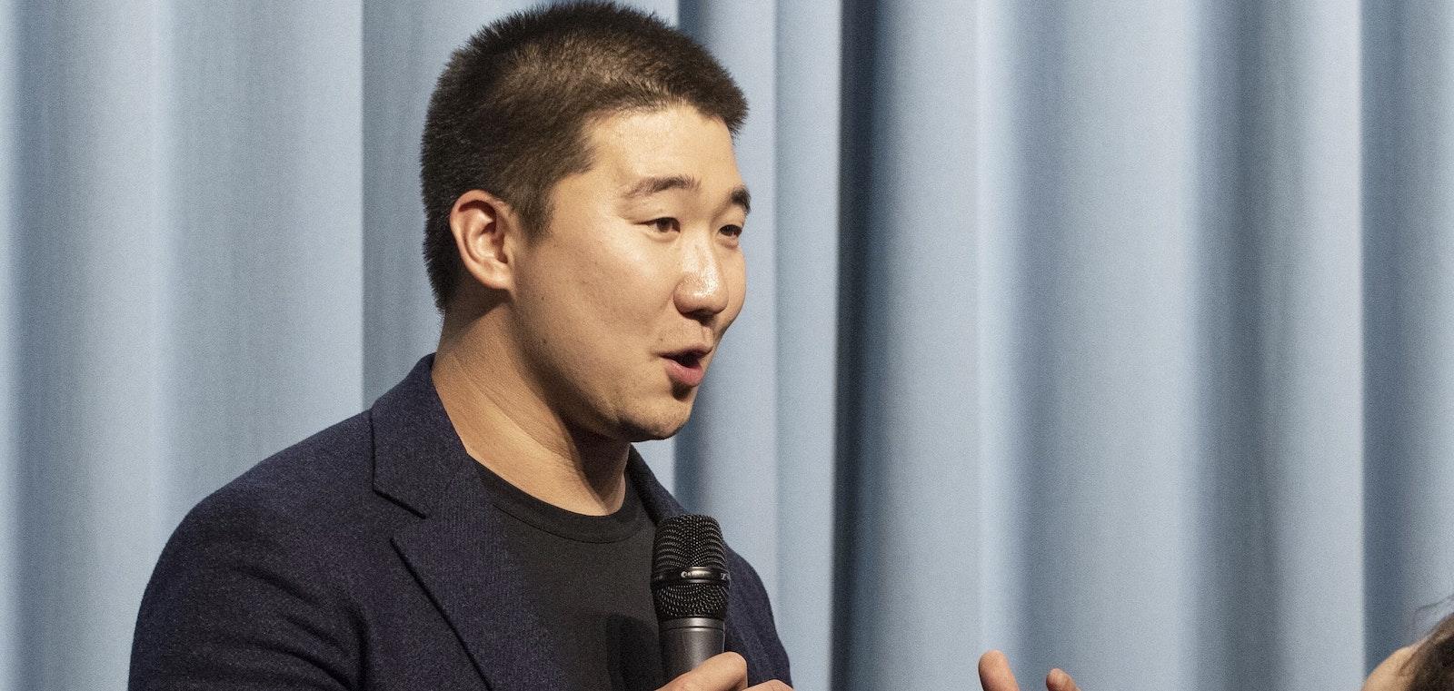 Airtable CEO Howie Liu. Photo by Erin Beach