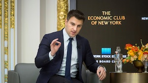 Airbnb CEO Brian Chesky. Photo: Bloomberg