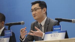 Tencent CEO Ma Huateng. Photo by Bloomberg