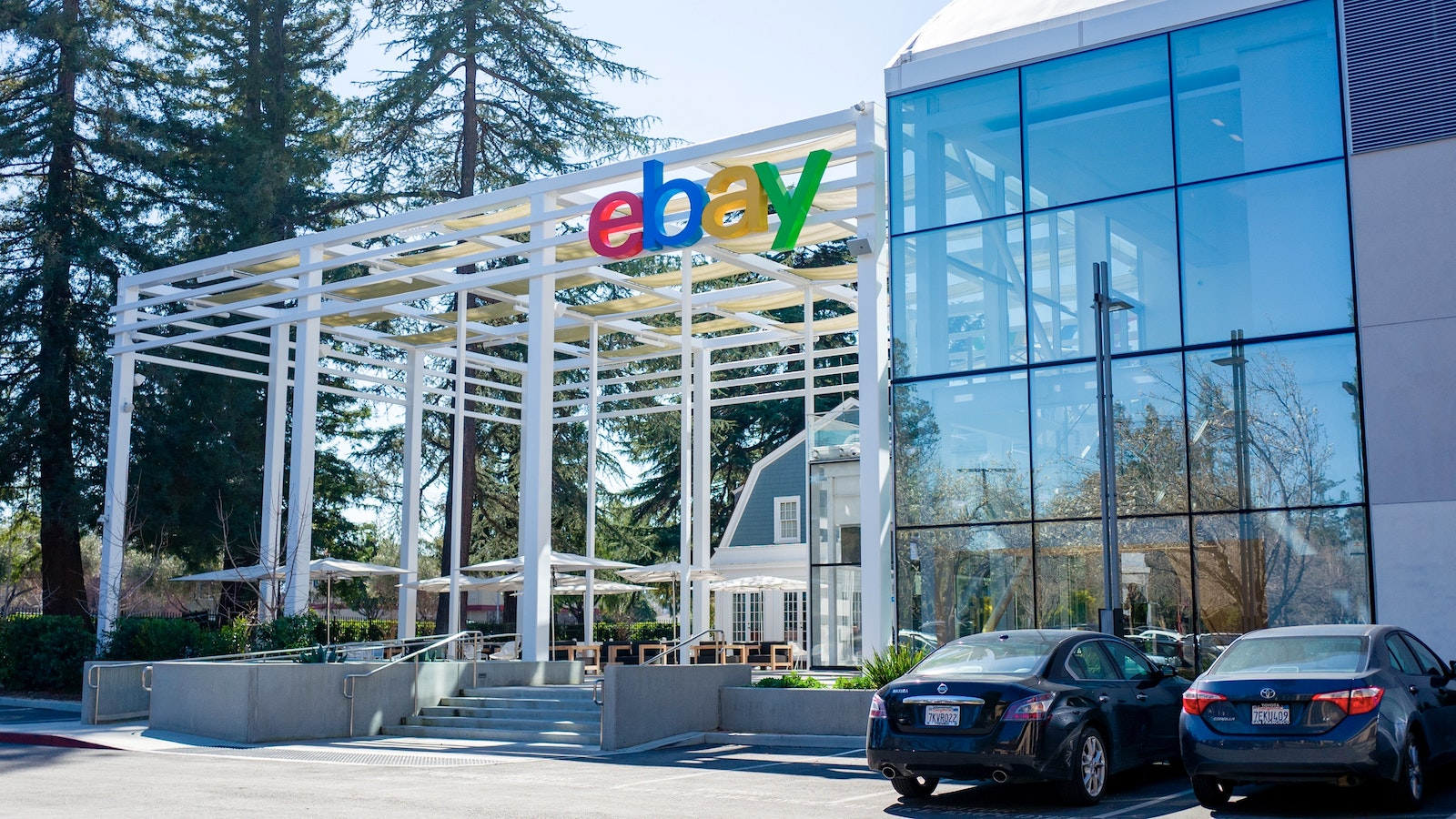 eBay's Silicon Valley headquarters. Photo by AP