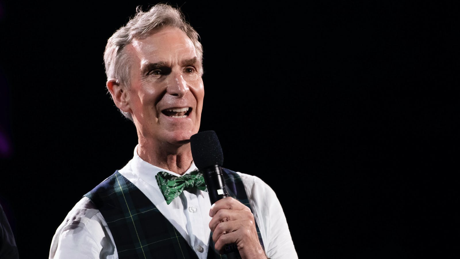 Bill Nye, host of a show made by Stitcher. Photo by AP