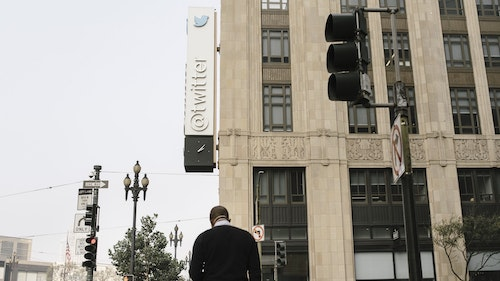 Twitter's San Francisco headquarters. Photo by Bloomberg