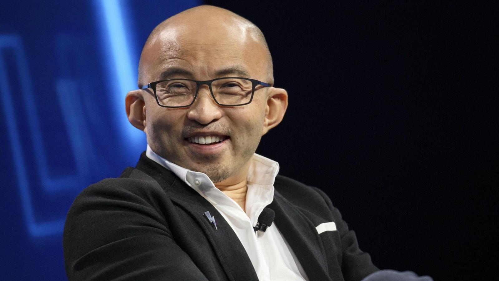 China Renaissance CEO Fan Bao. Photo by Bloomberg.