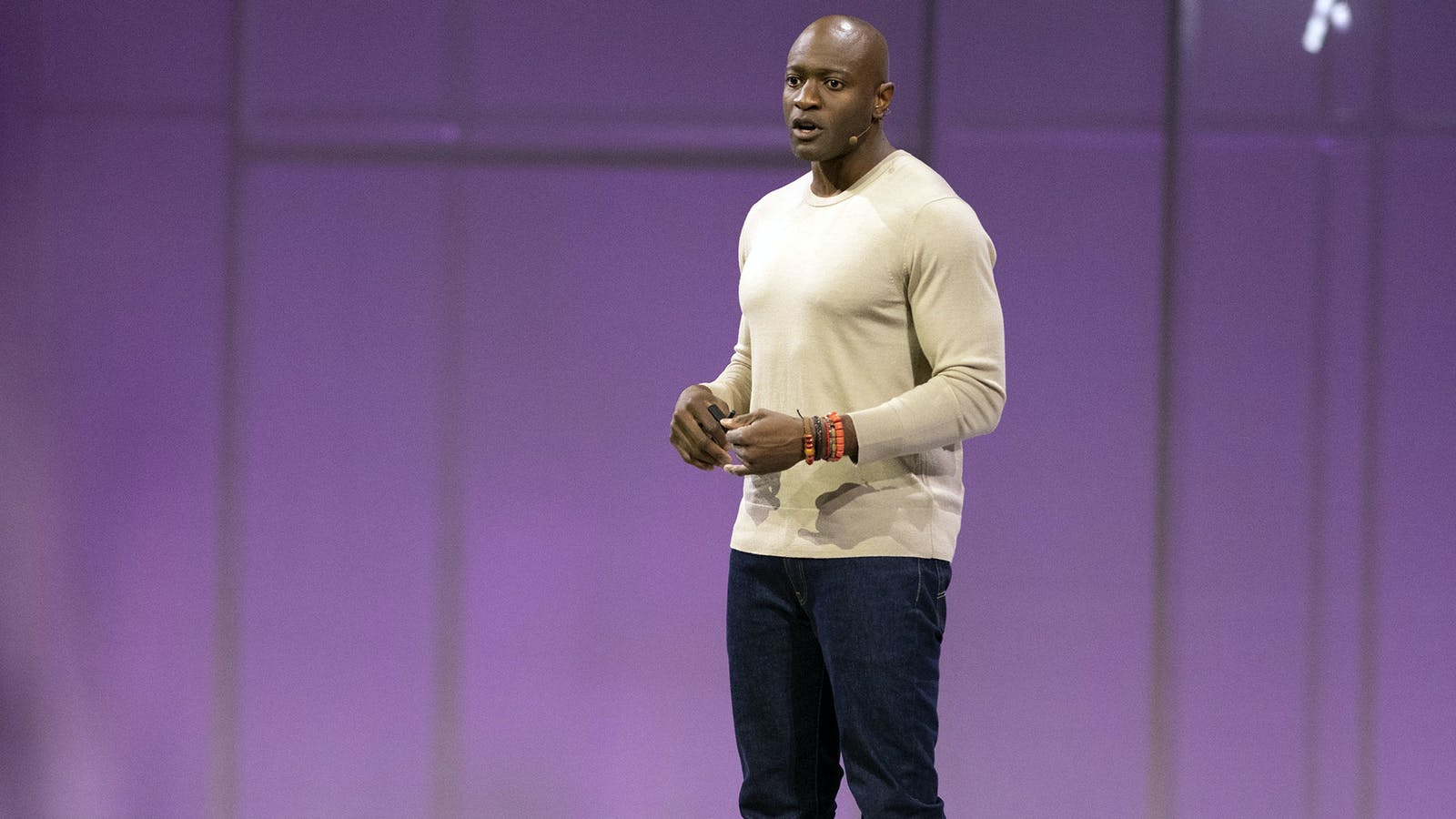 Facebook executive Ime Archibong, who heads a new products group that now includes Facebook's venture capital arm.