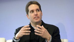 Jason Kilar, now chief executive officer of WarnerMedia, at a conference in 2010, when he was chief executive officer of Hulu LLC. Photo: Bloomberg