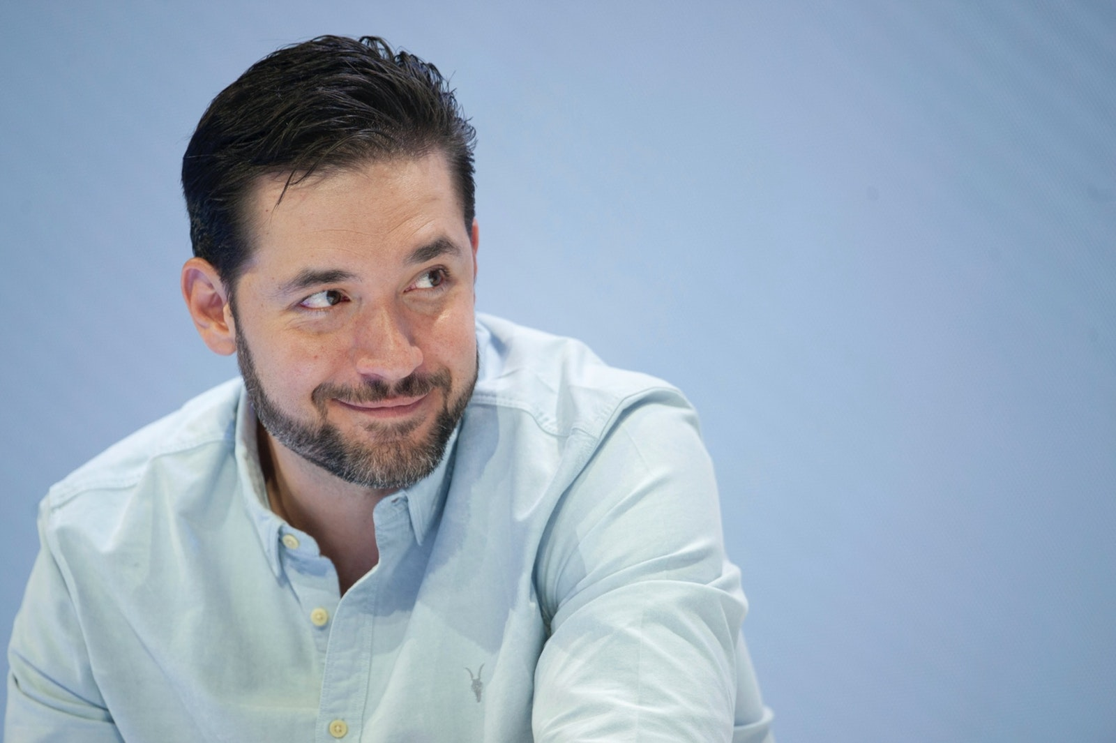 Alexis Ohanian, co-founder of Reddit and Initialized Capital, in August 2019. Photo: AP