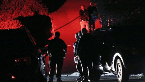 Police investigated a shooting in Orinda, Calif., during a party at a rental home last October. Photo: AP
