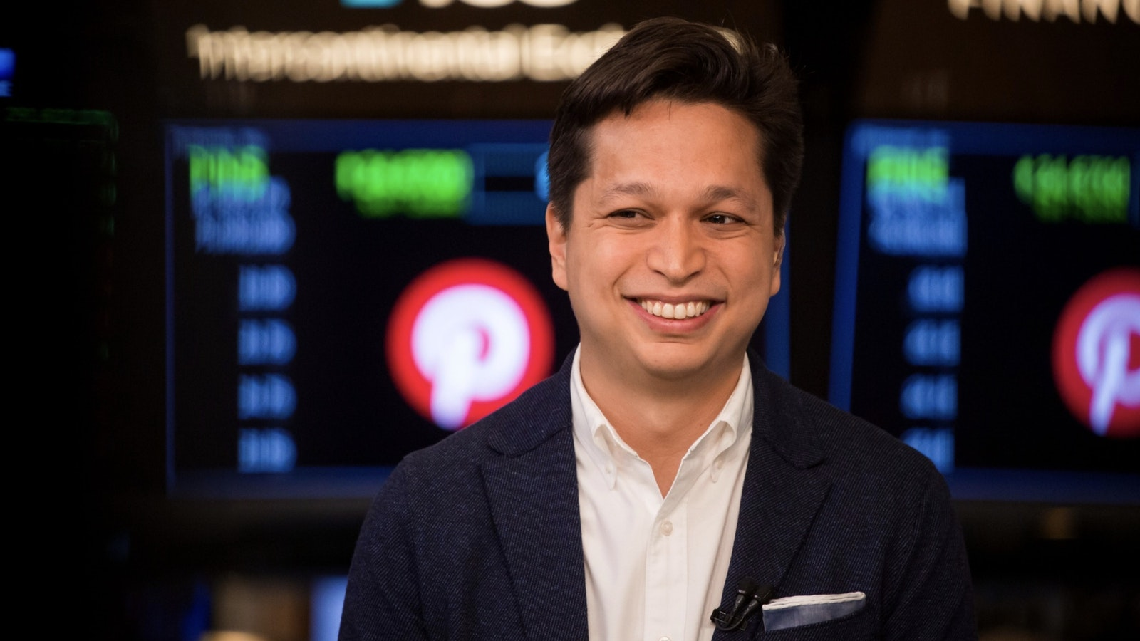 Pinterest CEO Ben Silbermann. Photo by Bloomberg