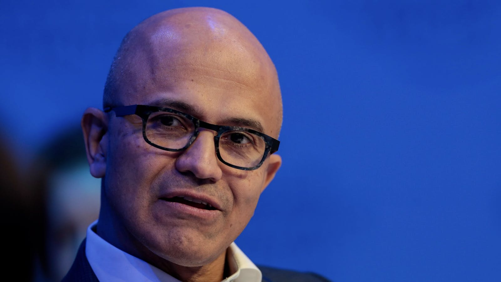 Microsoft CEO Satya Nadella. Photo by Bloomberg