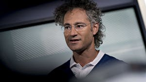 Palantir CEO Alexander Karp. Photo by Bloomberg