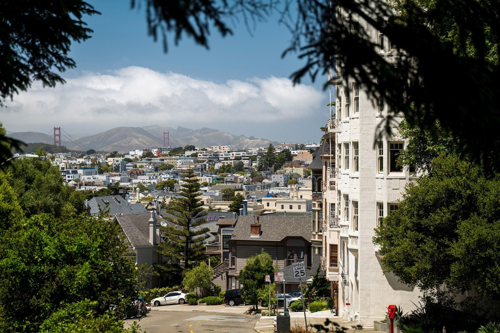 A view of San Francisco in July, 2020. Venture capitalist Marc Andreessen is encouraging founders to set up companies in the San Francisco area. Photo: Bloomberg