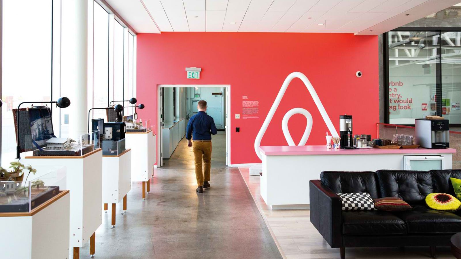 Airbnb's headquarters in San Francisco. Photo: Airbnb