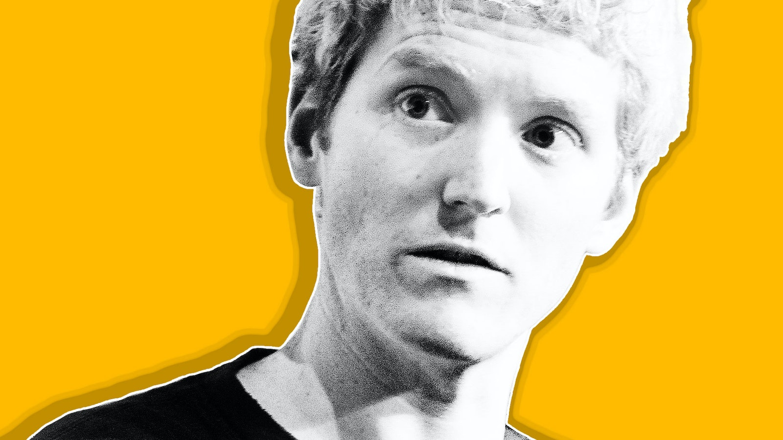 Patrick Collison. Illustration by Mike Sullivan.