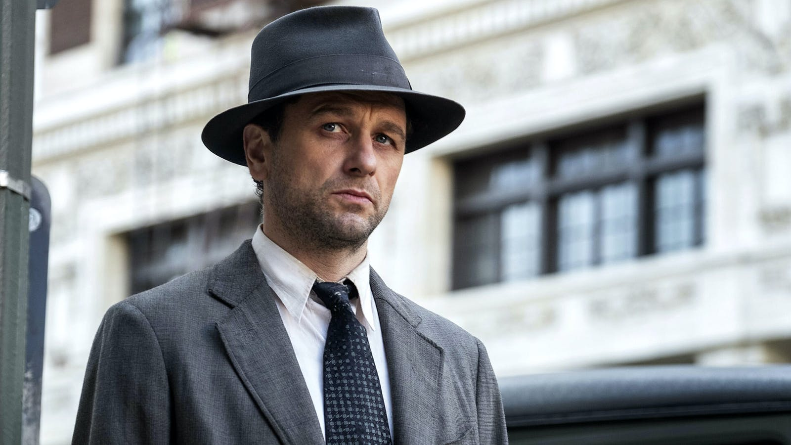 The actor Matthew Rhys, who plays the lead role in HBO's Perry Mason. Photo by HBO