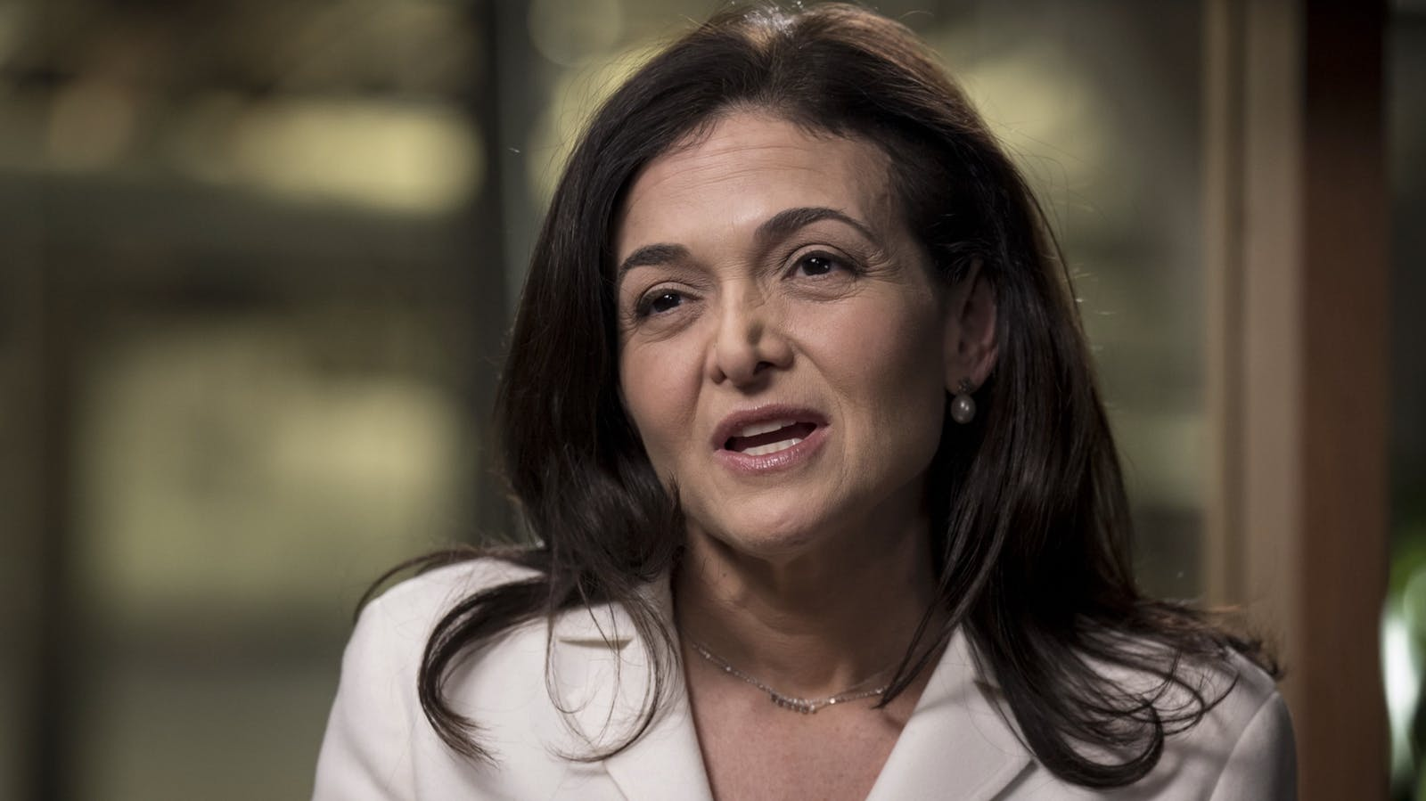 Facebook COO Sheryl Sandberg. Photo by Bloomberg.