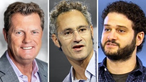 From left: Snowflake's Frank Slootman, Palantir's Alexander Karp and Asana's Dustin Moskovitz. Photos by Snowflake, Bloomberg and Julie Mikos.